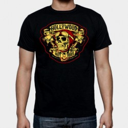 Camiseta Hollywood hot rods hombre chico