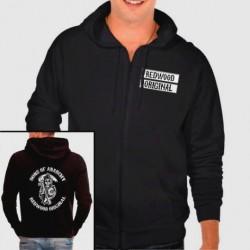 """Hoodie Sweatshirt sons of anarchy """"redwood"""""""