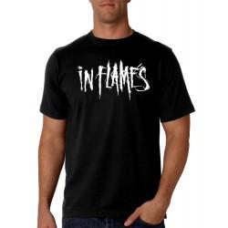 Men In Flames T shirt