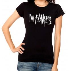 Women In flames T shirt