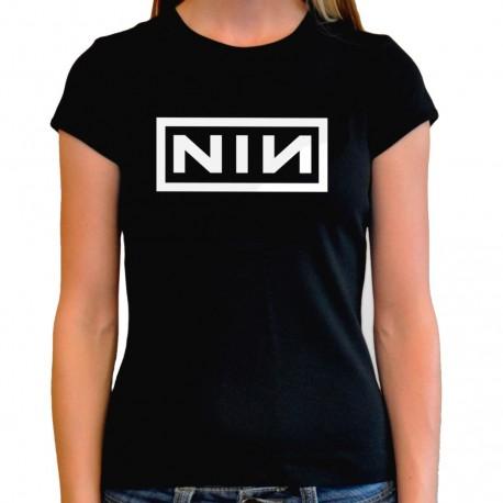 Camiseta mujer Nine Inch Nails