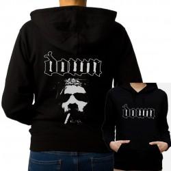 Women Down hoodie sweatshirt