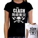 Women The Clash T shirt
