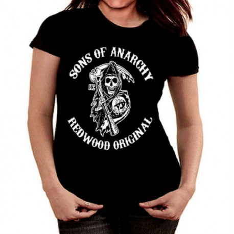 Women Sons of anarchy T shirt