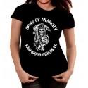 Camiseta mujer Hijos de la anarquia