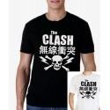 Men The Clash T shirt