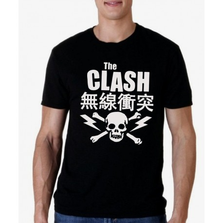 Camiseta hombre The Clash
