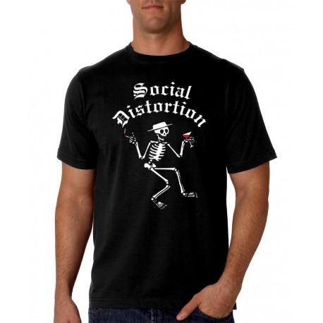 Men Social Distortion T shirt