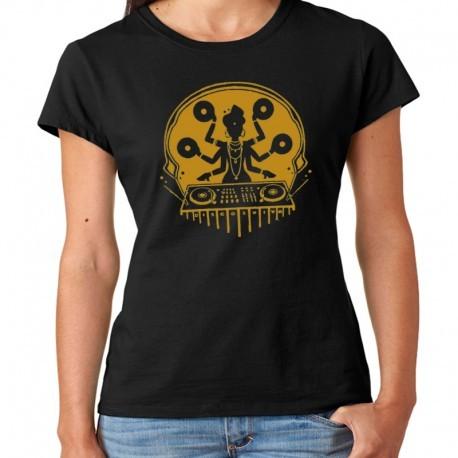 Women Dj Disco Shiva T shirt