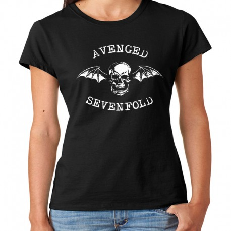 Women Avenged Sevenfold T shirt