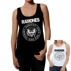 Women Ramones tank top