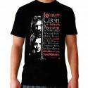 Men Game of thrones Arya list T shirt