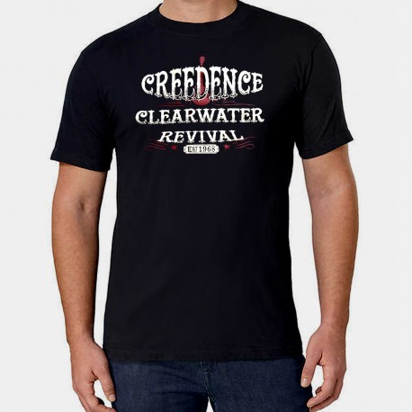 Men Creedence Clearwater Revival T shirt