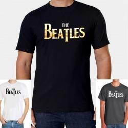 Men The Beatles guitars T shirt