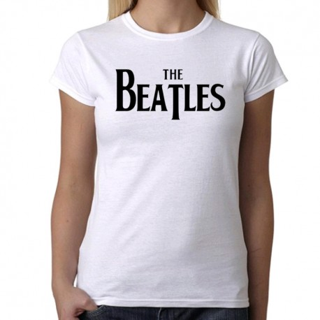 Camiseta mujer The Beatles