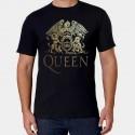 Camiseta hombre Queen dorada