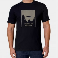 Men X Files T shirt