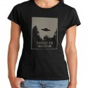 Women X Files T shirt