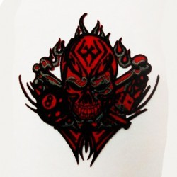 Red demon patch