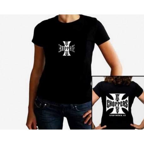 Women West Coast Choppers T shirt