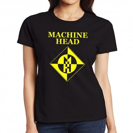 Women Machine Head T shirt