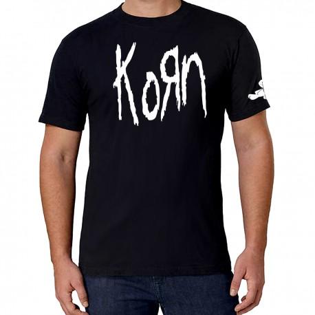 Men Korn band T shirt