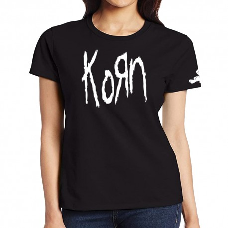 Women Korn band T shirt