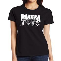 Women Pantera band T shirt