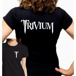Women Trivium band T shirt
