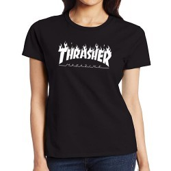 Women Thrasher magazine T shirt