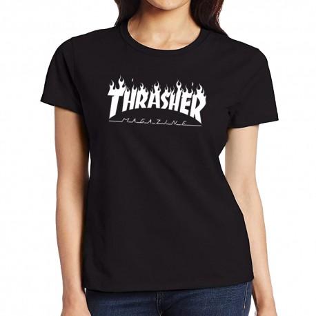 Camiseta mujer Thrasher magazine
