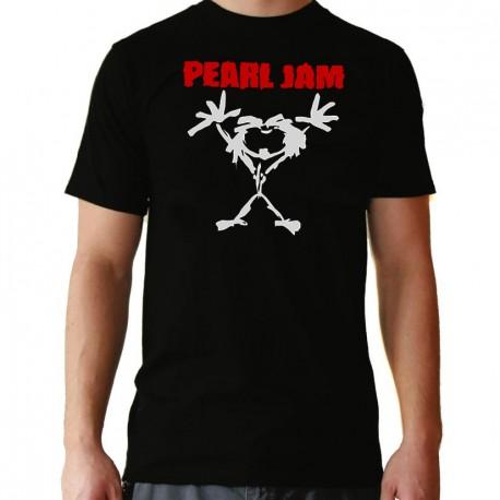 Men Pearl Jam T shirt
