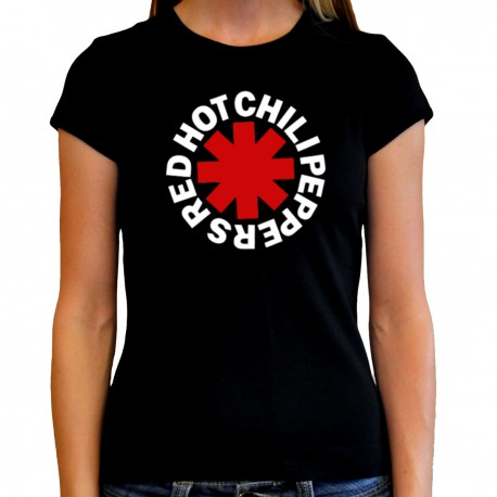 Women Red hot chili peppers T shirt