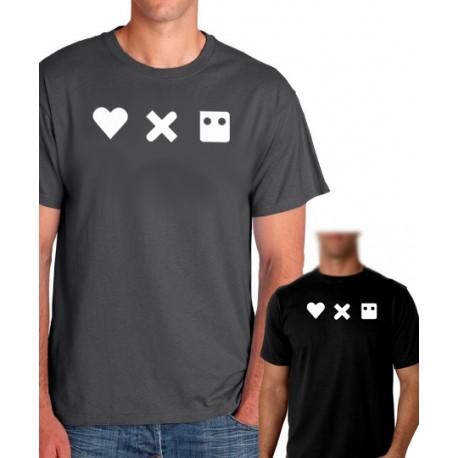 Camiseta hombre Love, death and robots