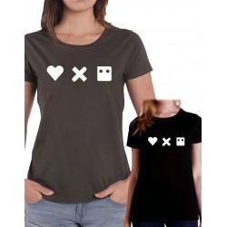Women Love, death and robots T shirt