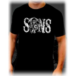 Camiseta Hijos de la anarquia hombre