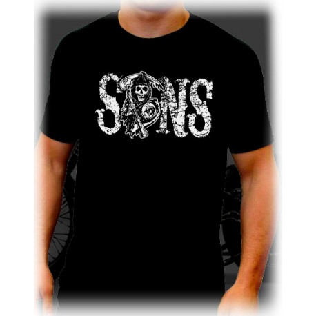 Men Sons of anarchy T-shirt