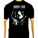 Men Johnny Cash T shirt