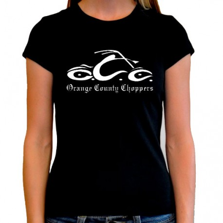 Women Orange county choppers T shirt