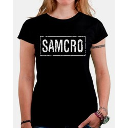 Women Sons of anarchy SAMCRO T shirt
