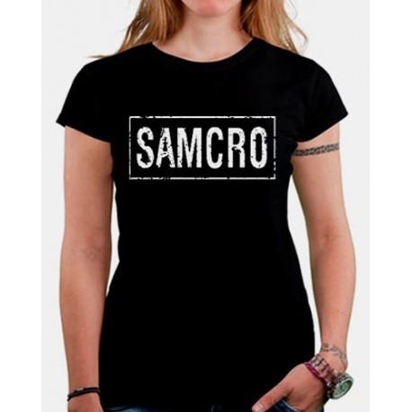 Camiseta mujer Hijos de la anarquia SAMCRO