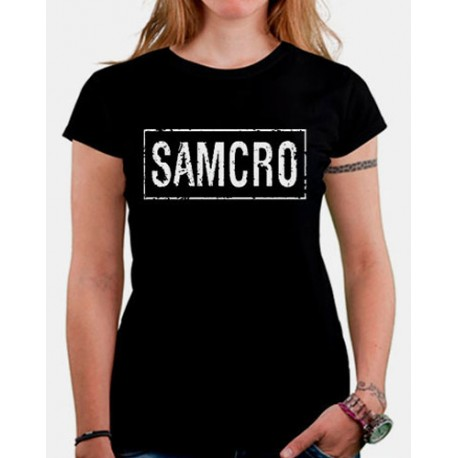 Women Sons of anarchy SAMCRO women T shirt