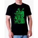 Camiseta hombre Fender guitars monsters