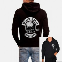 Men Black label society Hoodie Sweatshirt