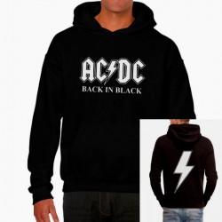 Sudadera hombre AC/DC Back in black