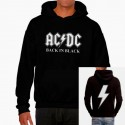 Sudadera hombre AC/DC Back in black