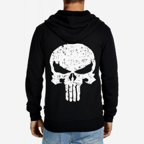 Men Punisher hoodie sweatshirt