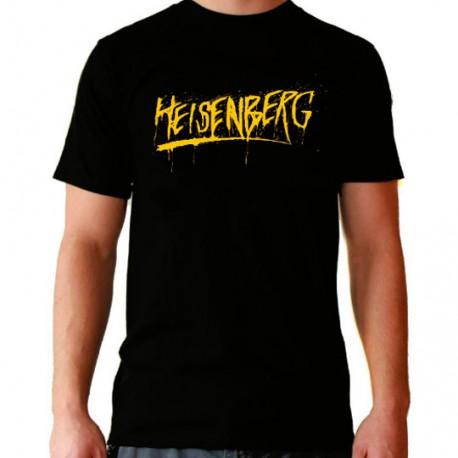 Camiseta hombre Breaking bad Heisenberg
