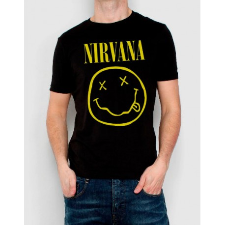 Camiseta Hombre Hombre Camiseta Nirvana Made4rock Camiseta Nirvana Made4rock Hombre XqSUxSHw4