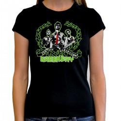 Camiseta mujer Green day